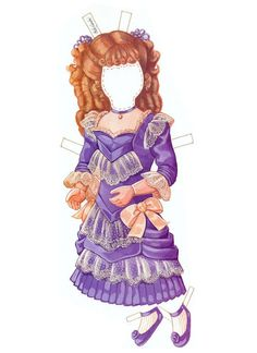 The Albert Marque Paper Dolls (circa 1914) by Peck Aubry - Nena bonecas de papel - Picasa Web Albums