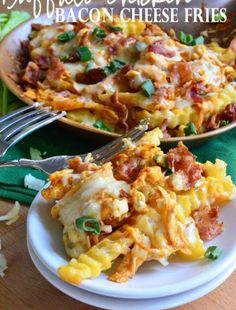 This is a sponsored post written by me on behalf of Tyson Foods, Inc. All opinions are entirely my own. Cheesy Bacon, Potato and Egg Casserole Serve up a p