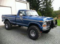 Sweet looking blue w/racetrack trim