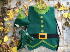 4fbb9f349ca #Christmaselfcostume#Christmascostume#Elfslippers#SantaClauself Elf costume  comes with its tunic typed costume