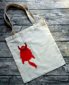 Tote with cat