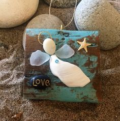A personal favorite from my Etsy shop https://www.etsy.com/listing/553952453/beachcomber-love-angel