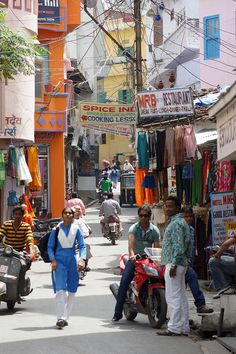 Udaipur old town, India