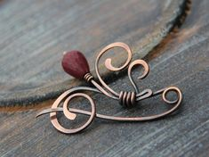 1000+ images about проволока брошки on Pinterest   Shawl pin, Wire ...