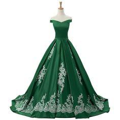 Vestidos de 15 años en Verde Esmeralda
