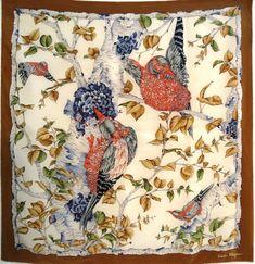 Wearing Scarves, How To Wear Scarves, Salvatore Ferragamo, Fendi, Vintage World Maps, Prints, Silk, Collection, Headscarves