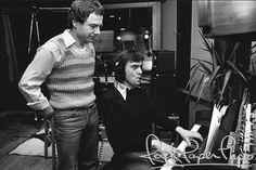 Peter Gabriel and Robert Fripp.