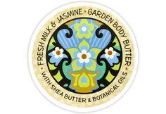 FRESH MILK & JASMINE GARDENERS BODY BUTTER 8oz Greenwich Bay Trading Company $8.75