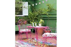 restauración sillones hierro-arenado juegos jardin-   sillas   Pinterest