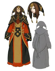 Yve'noile Concept Art from Final Fantasy XI