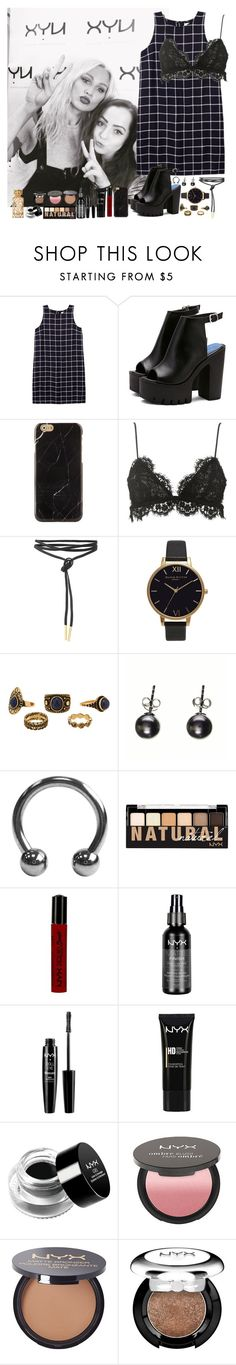 """NYX Event with Lou"" by miriamofficial5 ❤ liked on Polyvore featuring Olive + Oak, Isabel Marant, Olivia Burton, Black, NYX and Tory Burch"