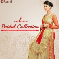 Rachit Fashion presents to you season's best and very beautiful bridal collection of designer sarees.  #bridal #bridaloutfit #weddingoutfit #weddingshopping #sarees
