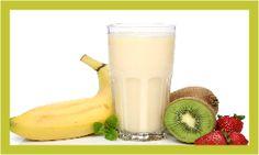 Sorvete de banana e manga