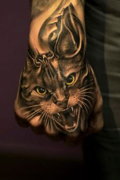 Tattoo Artist - Victor Portugal - animal tattoo