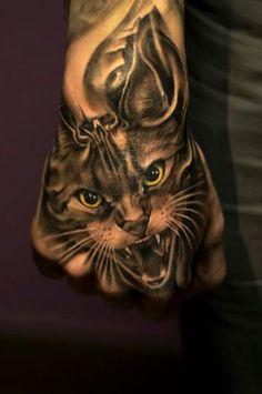 Tattoo Artist - Victor Portugal - animal tattoo