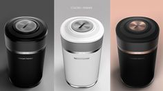 Harman Kardon Knit - Connected Audio on Behance Audio Design, Speaker Design, Cute Water Bottles, Color Plan, Harman Kardon, Ads Creative, Portfolio Layout, Wearable Technology, Cup Design