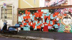 #milanodaclick #milanodavedere #milanodascoprire #milanodavivere #postcardsfromitaly #postcardsfromtheworld #italianstyle #italianway #streetarttour #tourinmilan #milano #milan #italy #italia #streetart #streetartmilano2016 #streetartmilan #streetartists #streetarteverywhere #streetartistry #murales #colours #quartiereisolamilano #quartiereisola #quartierediartisti #isola #isolamilano #portagaribaldi by idacamm