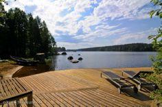 Myynnissä - Omakotitalo, Pitkälahti, Kuopio:  #terassi #ranta #omakotitalo #kuopio #oikotieasunnot