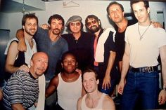 Bruce Springsteen and friends. Dion, Joe Grushecky, Scott Kempner, mfl.
