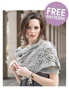 Marquise-lace infinity scarf