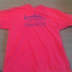 """Red vintage tee Vintage tee shirt. """"Adirondack Canoe Classic"""". Tag says Large. Fits more like a medium. Tops Tees - Short Sleeve"""
