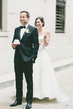 First Look Bride and Groom on SMP