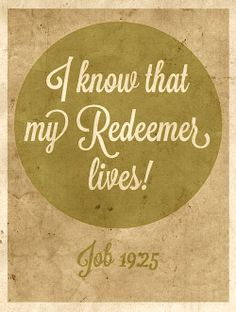 Job 19:25 grace, job 1925, faithhopelovebelievepray, christian, bibl, god, canvasartframesinspir, jesus, encourag