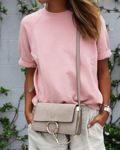 Fashionable Round Neck Short Sleeve T-Shirt For WomenT-Shirts | RoseGal.com