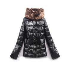 France Moncler Pop Stars New Black Coat Women Outlet Online