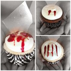 These fun Halloween cupcakes are super easy to make and will wow your guests.