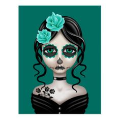 Image result for day of dead girl