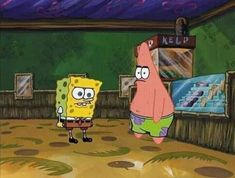 Patrick Spongebob, Spongebob Cartoon, Spongebob Drawings, Spongebob Memes, Cartoon Memes, Spongebob Squarepants, Funny Cartoon Pics, Funny Reaction Pictures, Meme Pictures