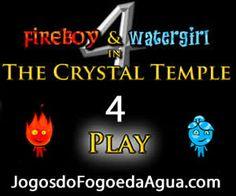 Video do Jogo do Fogo e da Água 4 no Templo de Cristal