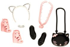 Amazon.com: Barbie Fashion Accessories Pack 3: Toys & Games