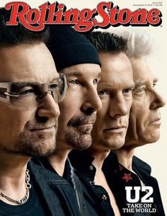 U2 on the cover of Rolling Stone Magazine (2015)