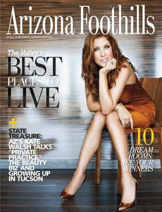 Arizona Foothills Magazine Cover