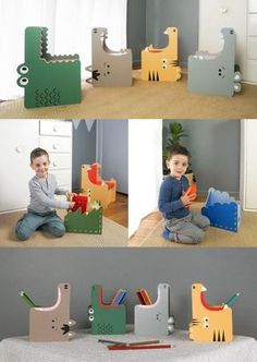 Gobble: Teach Kids Eco-habits with Fun Recyclable Furniture by Form Maker. Gobble: Teach Kids Eco-habits with Fun Recyclable Furniture by Form Maker. More from my siteIKEA Sofa Cover & Custom Couch Slipcover Maker Diy Kids Furniture, Cardboard Furniture, Recycled Furniture, Furniture Makeover, Furniture Removal, Furniture Chairs, Furniture Stores, Cheap Furniture, Luxury Furniture