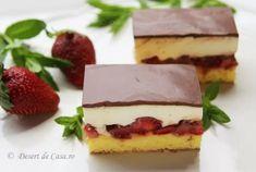 40 Retete - Prajituri de casa pentru sarbatori - Desert De Casa - Maria Popa Romanian Desserts, Pavlova, Diet Recipes, Bakery, Sweet Treats, Cheesecake, Food And Drink, Sweets, Muffin
