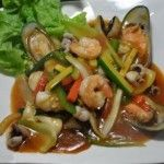 Mixed Seafood Oyster Sauce