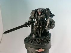 Marsekay's Painting blog.: CARCHARODONS TERMINATOR LIBRARIAN WIP SUNDAY