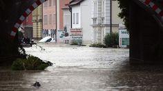 Flutwelle in Niederbayern: Drei Leichen nach Hochwasser geborgen
