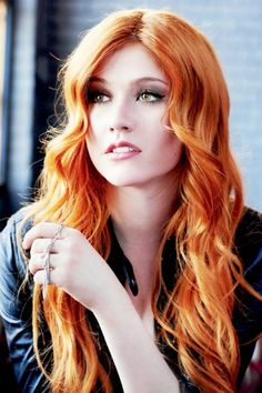 Promotional Picture for S1, Katherine McNamara as Clary Fray