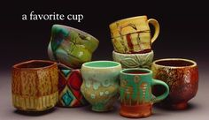 a favorite cup - functional ceramics of Colleen Riley and Donovan Palmquist | Northfield.org