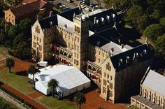 The Great Gatsby (2013) | The 2006 nuptials & wedding reception for singer Keith Urban and Academy Award winning actress Nicole Kidman took place at the International College of Management, Manly, Australia. Designed in Gothic style and built in 1885 as St Patrick's Seminary, it doubles as the Gatsby Mansion in the highly anticipated adaption set for release Summer 2013.