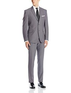 """This Perry Ellis suit is made of high quality fabric which allows for comfort and ease of movement. The fit is updated and the styling is classic yet fun. It would be a great addition to any wardrobe.       Famous Words of Inspiration...""""God is more truly imagined than...  More details at https://jackets-lovers.bestselleroutlets.com/mens-jackets-coats/suits-sport-coats/suits/product-review-for-perry-ellis-mens-two-button-slim-fit-solid-suit/"""