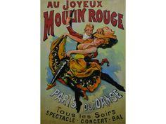 Moulin Rouge, schilderij van metaal   3D Schilderij van metaal   Steeg80 moestuin enzo Rouge Paris, Concert, Comic Books, Comics, Metal, Products, Moulin Rouge, Concerts, Metals