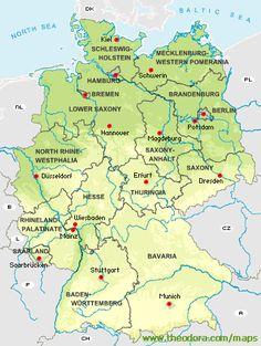 nordrhein westfalen outline map germany maps pinterest