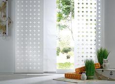 Eleganter Vorhang Mit Kreismuster: Accessoire In Weiß Von VENDA