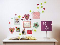 Decora las paredes con bonitos stickers