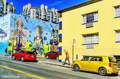 Color Street The Tenderloin District, San Francisco By Mitchell Funk mitchellfunk.com
